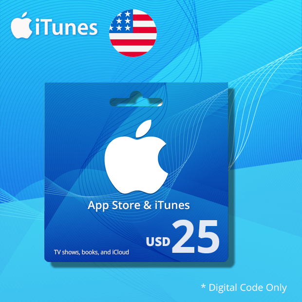 iTunes Wallet USD 25 (US)