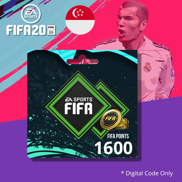 PS4 FIFA20 Points 1600 (Singapore)