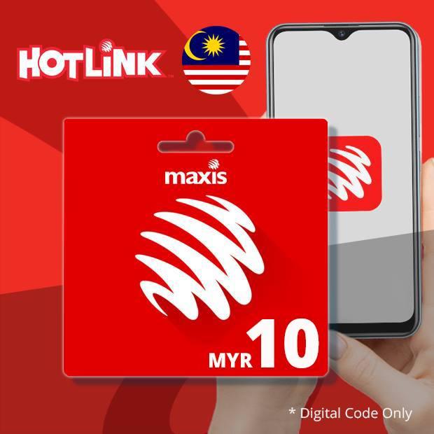 Maxis Hotlink RM10 (Malaysia)