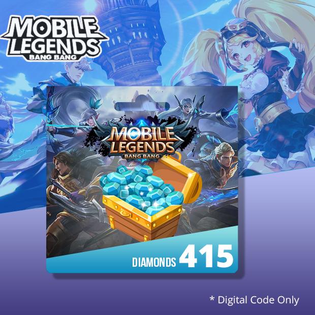 Mobile Legends 415 Diamonds (SEA)