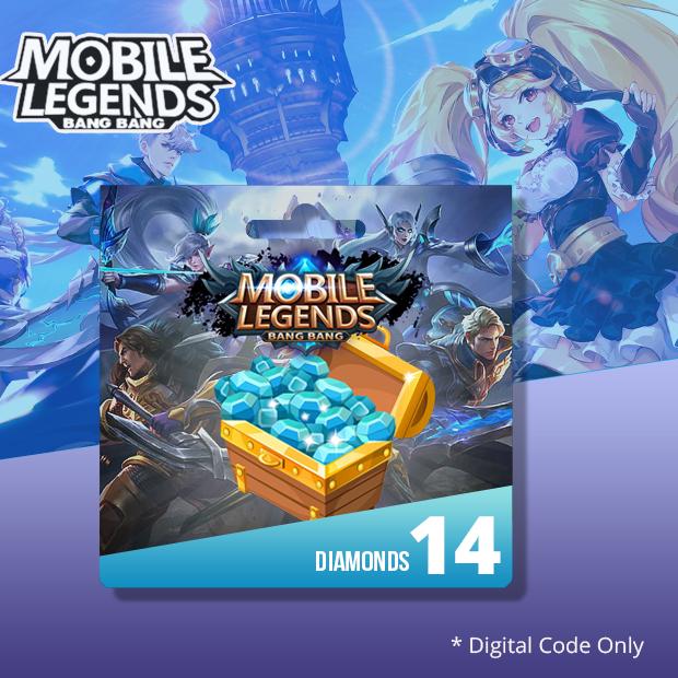 Mobile Legends 14 Diamonds (SEA)
