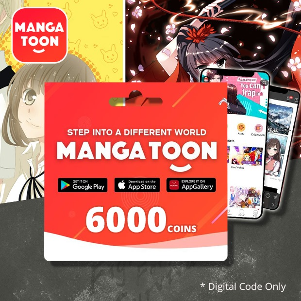 MangaToon 6000 Coins (Global)