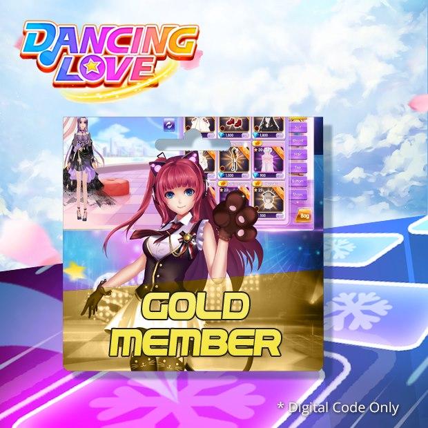 Dancing Love Gold Member (SEA)