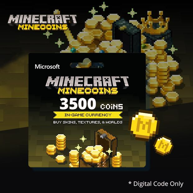 Minecraft Minecoins Pack 3500 Coins (Global)