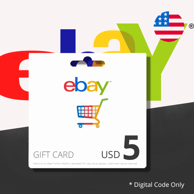Ebay USD 5 (US)
