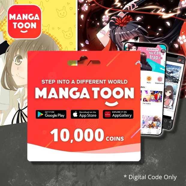 MangaToon 10,000 Coins (Global)