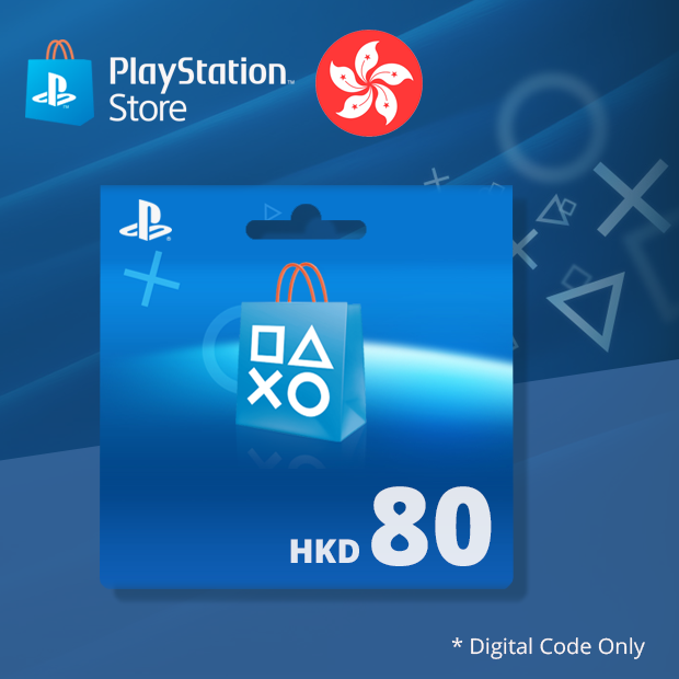 PSN Wallet HKD 80 (Hong Kong)