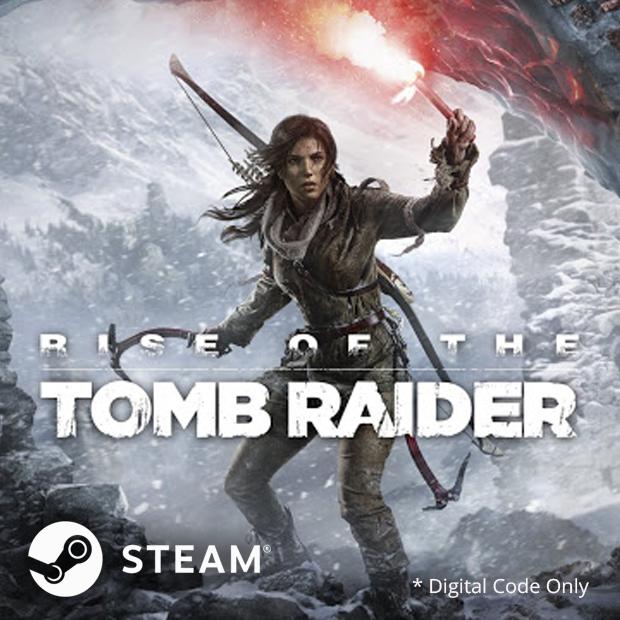 Rise of the Tomb Raider 20 Year Celebration Steam Code (English/Chinese) 古墓奇兵 崛起