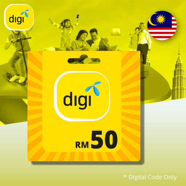 Digi Prepaid MYR 50 (Malaysia)