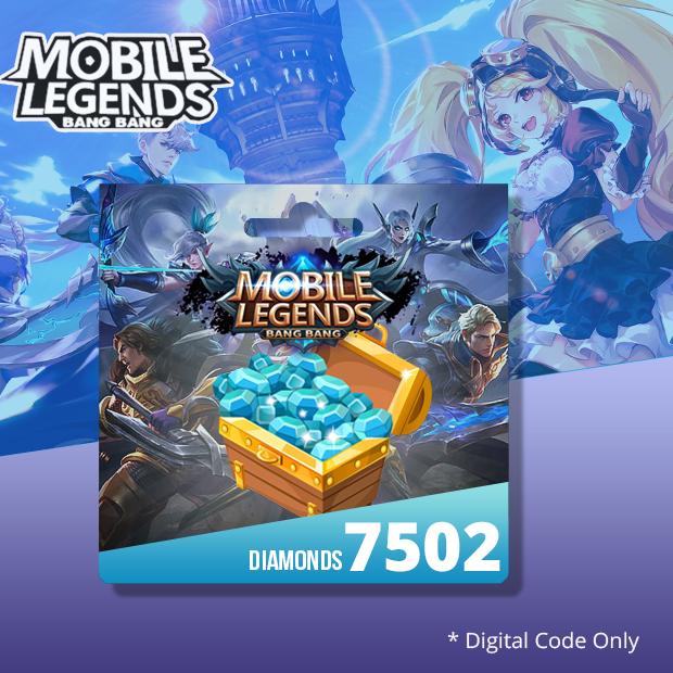 Mobile Legends 7502 Diamonds (SEA)