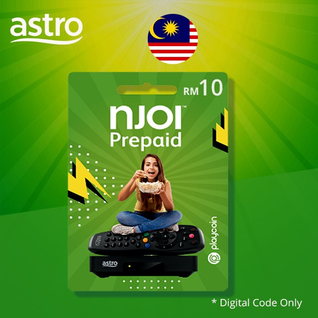 Astro NJOI Prepaid RM10 (Malaysia)