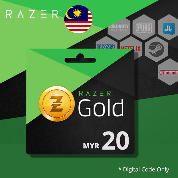 Razer Gold MYR 20 (Malaysia)