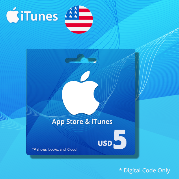 iTunes Wallet USD 5 (US)