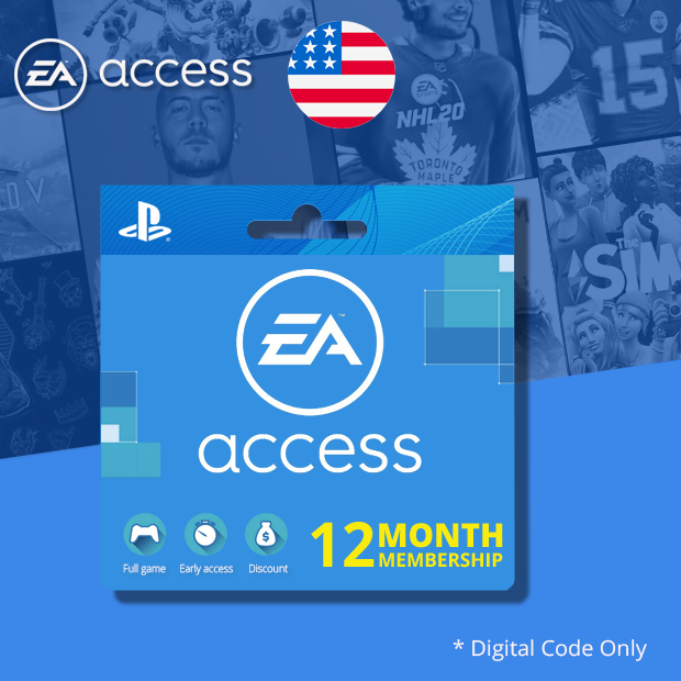 Playstation 4 EA Access Subscription 12-Months (US)