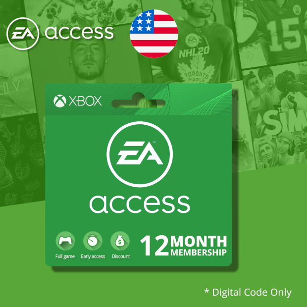 Xbox One EA Access Subscription 12-Months (US)