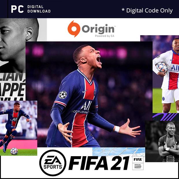 FIFA21 Origin Code (English/Chinese) * 國際足盟大賽 21 *