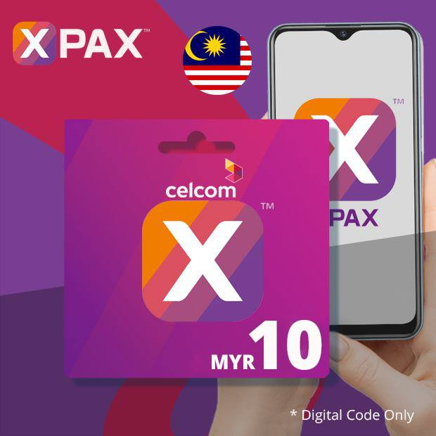 Celcom Airtime MYR 10 (Malaysia)