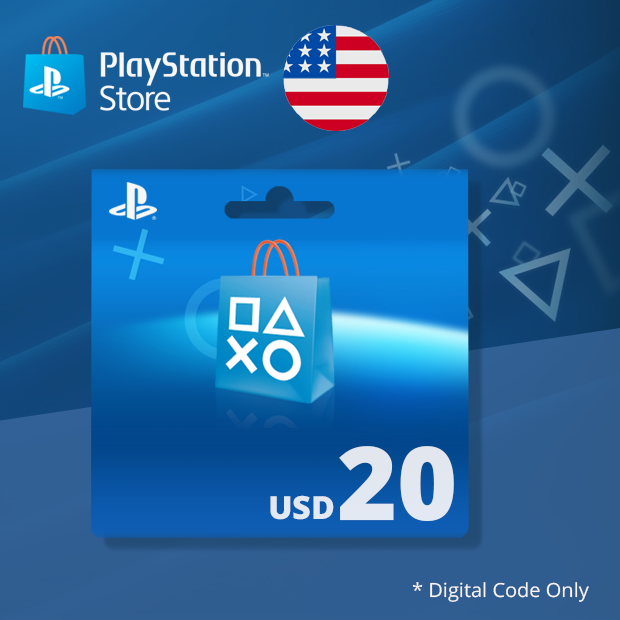 PSN Wallet USD 20 (US)