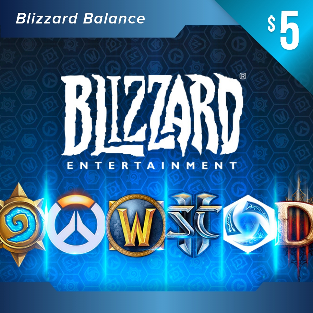 Blizzard Balance USD 50 (Global)