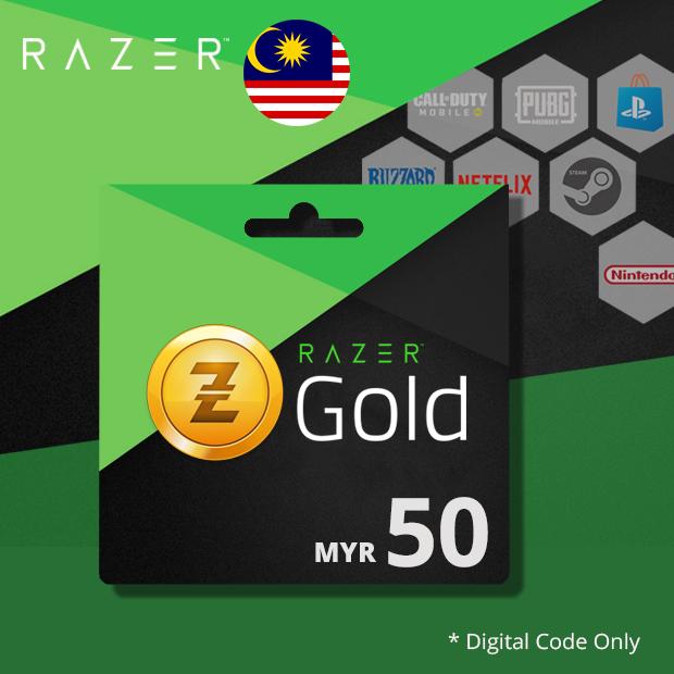 Razer Gold MYR 50 (Malaysia)
