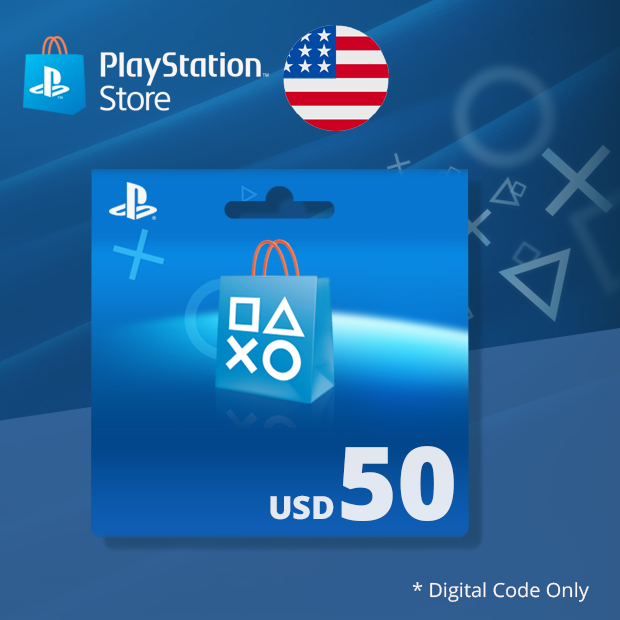 PSN Wallet USD 50 (US)