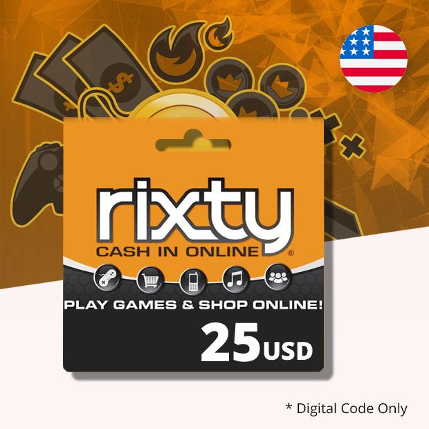 Rixty USD 25 (US)