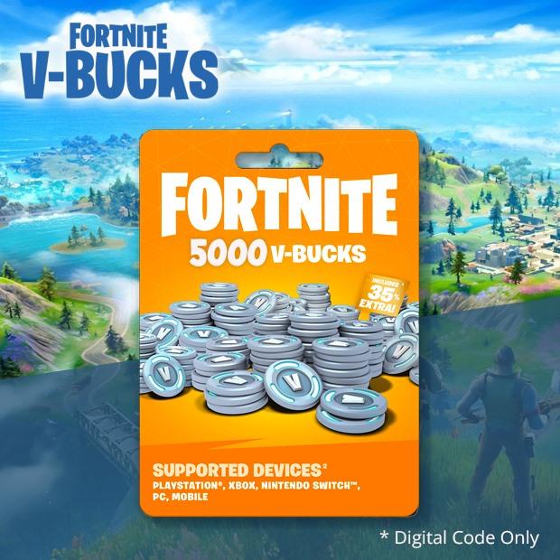 Fortnite V-Bucks 5000 Coins (Global)