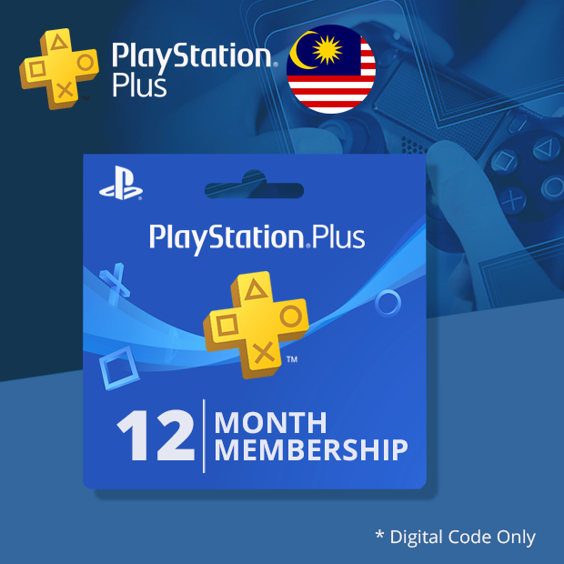 Playstation Plus 12-Months (Malaysia)