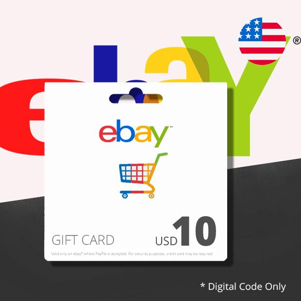 Ebay USD 10 (US)