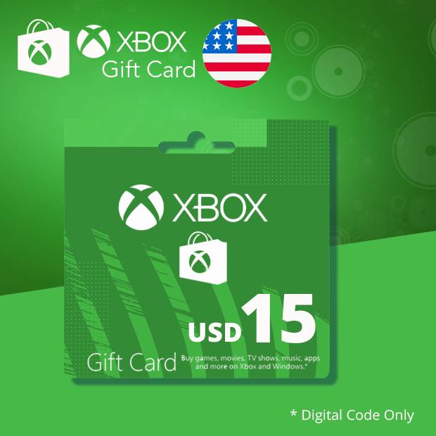 Xbox Wallet USD 15 (US)