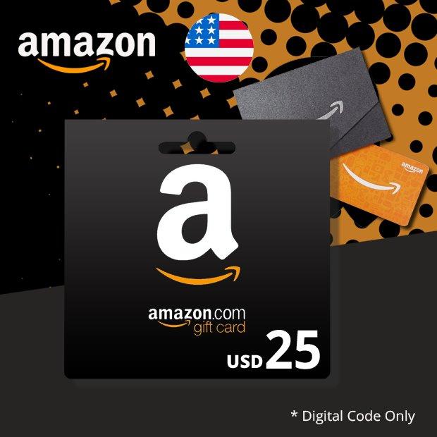 Amazon USD 25 (US)
