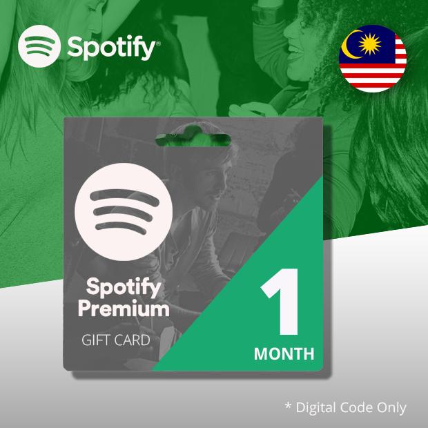 Spotify Premium Membership 1-Month (Malaysia)