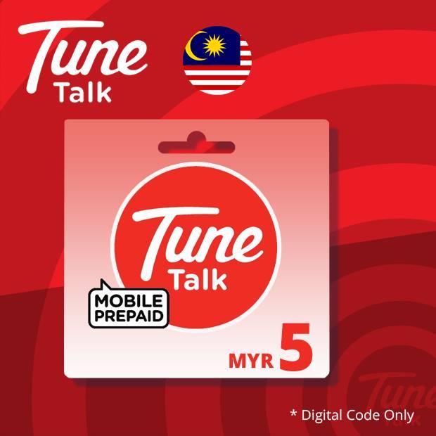 Tune Talk Reload RM5 (Malaysia)