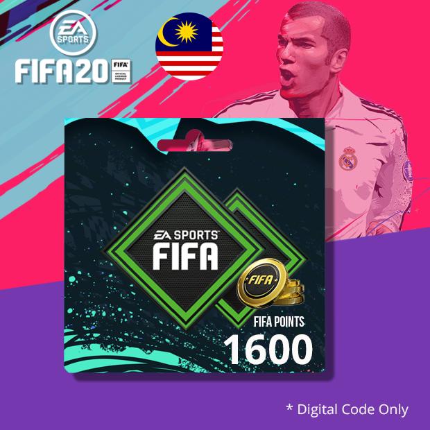 PS4 FIFA20 Points 1600 (Malaysia)