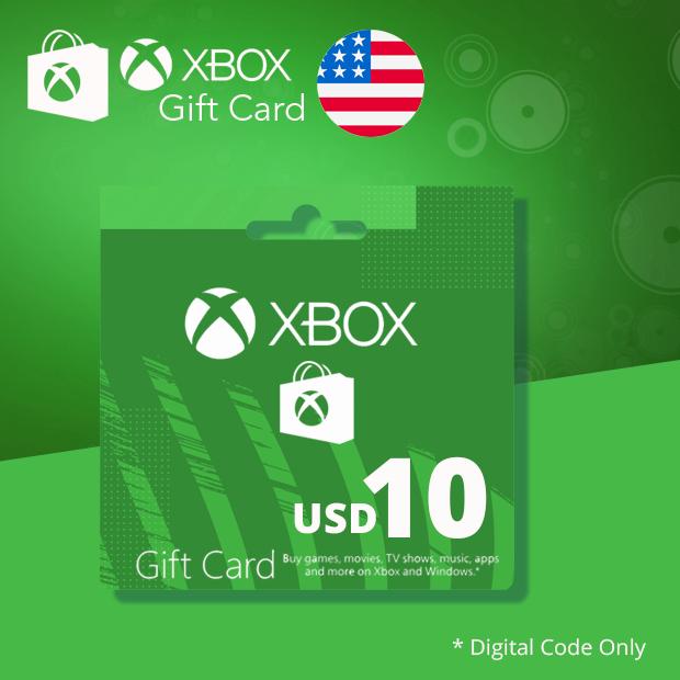 Xbox Wallet USD 10 (US)