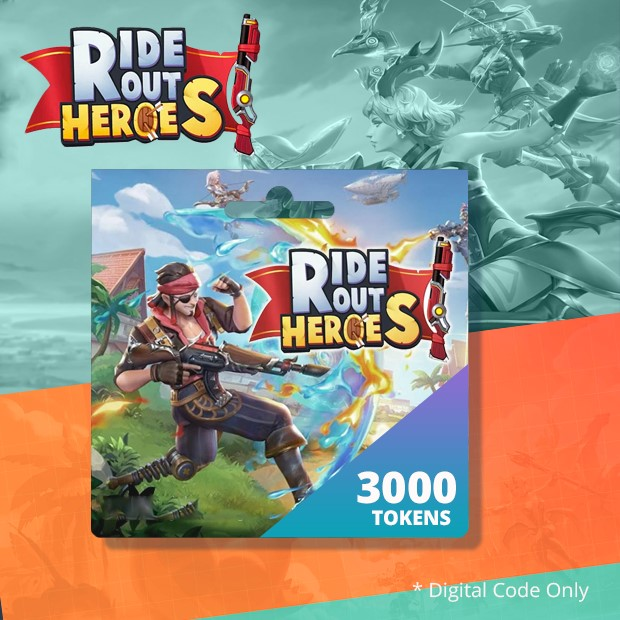 Ride Out Heroes 3000 Tokens (SEA)
