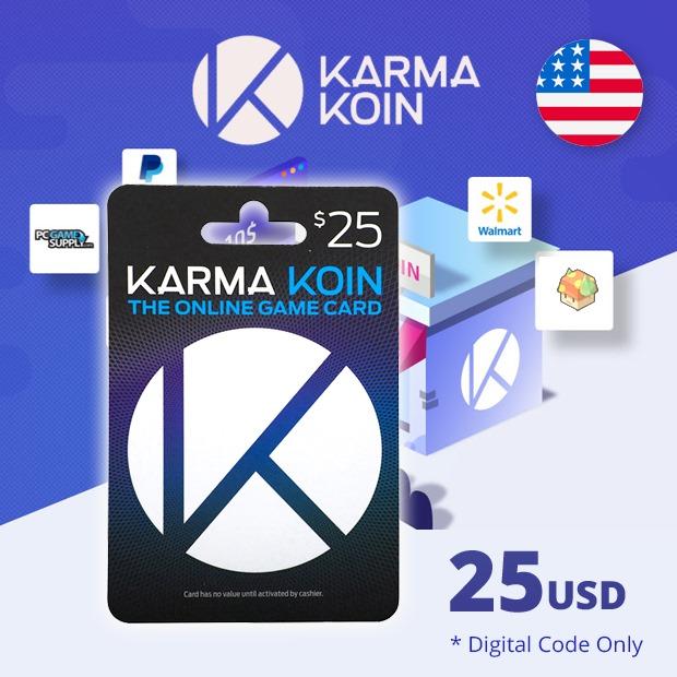 Karma Koin USD 25 (US)