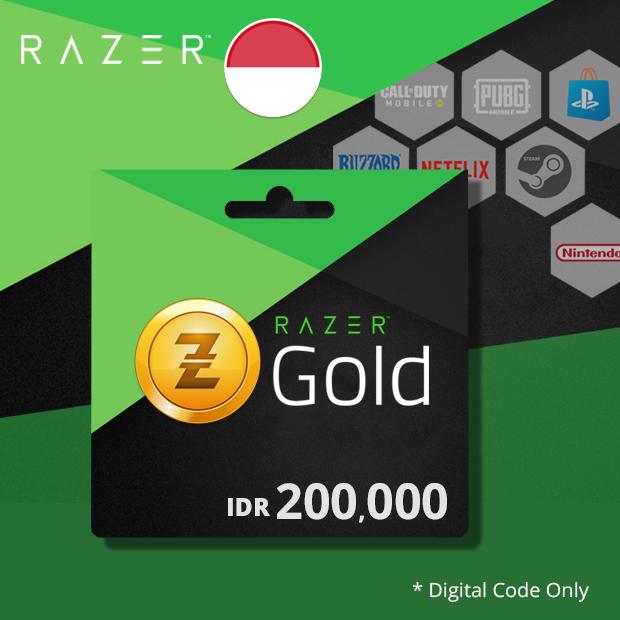 Razer Gold IDR 200,000 (Indonesia)