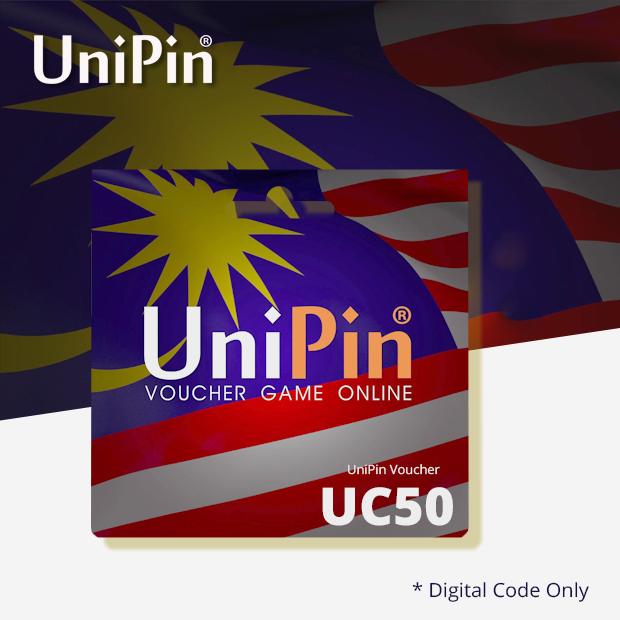 UniPin Voucher UC 50 (Malaysia)
