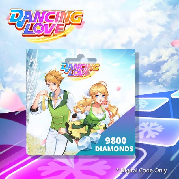 Dancing Love 9800 Diamonds (SEA)