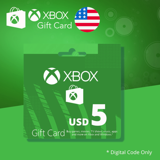 Xbox Wallet USD 5 (US)