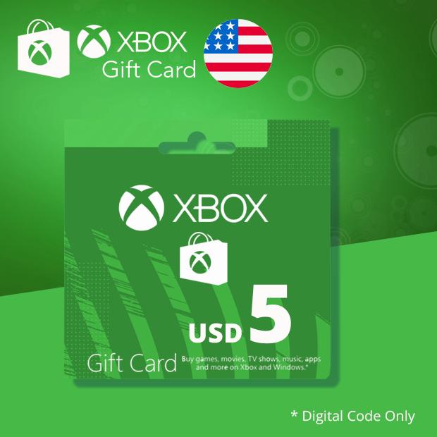 Xbox Wallet USD 5 (US)