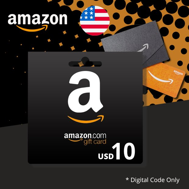 Amazon USD 10 (US)