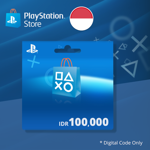 PSN Wallet IDR 100,000 (Indonesia)