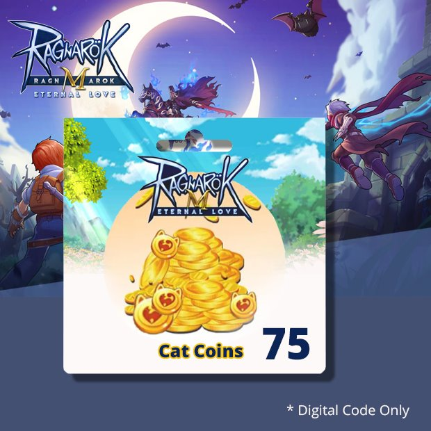Ragnarok Mobile Big Cat Coins 75 (SEA)