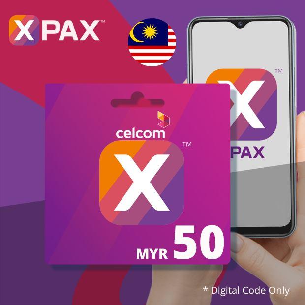 Celcom Airtime MYR 50 (Malaysia)