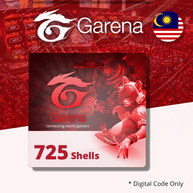 Garena Shells 725 (Malaysia)