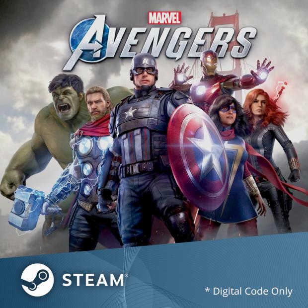 Marvel's Avengers Steam Code (English/Chinese) 漫威復仇者聯盟