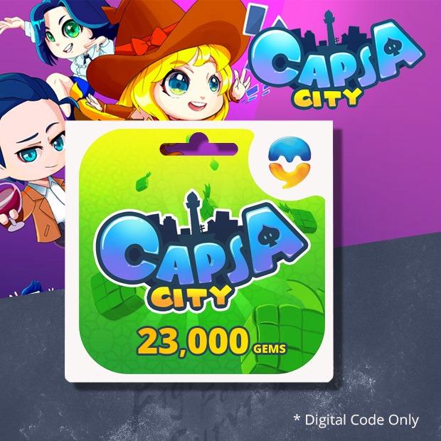 Capsa City 23,000 Gems (SEA)