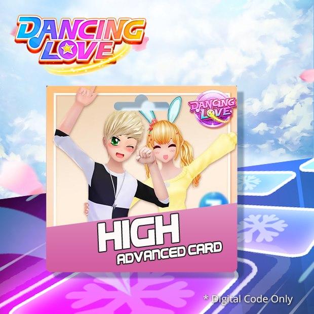 Dancing Love High Advanced Card (SEA)